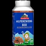 Berchtesgadener Land Alpenzwerg Bio Schokomilch 250g