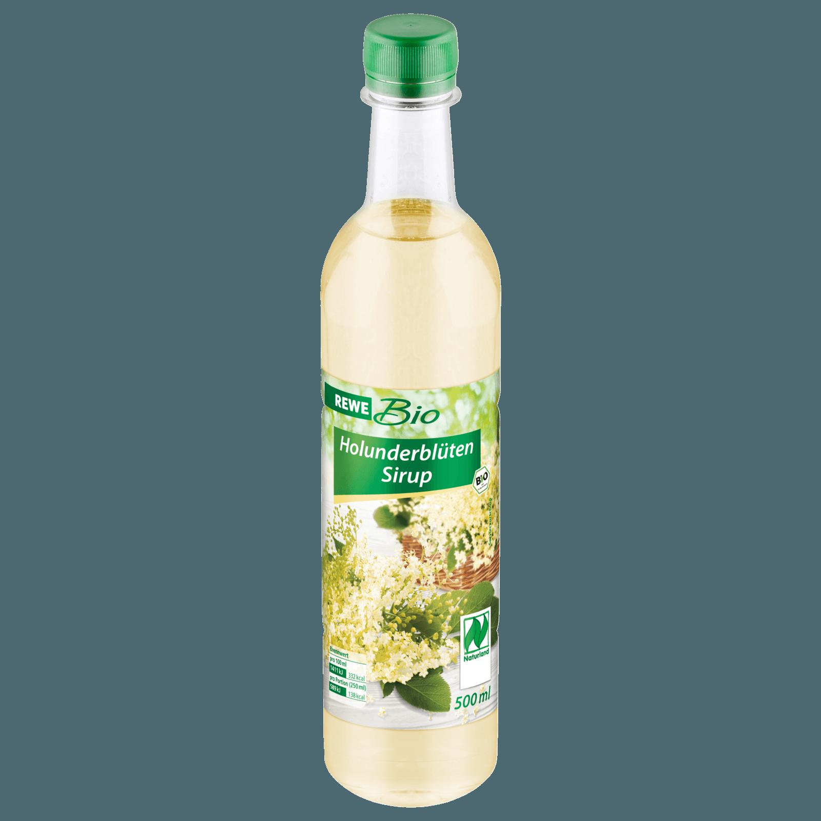 REWE Bio Holunderblütensirup 0,5l bei REWE online bestellen!