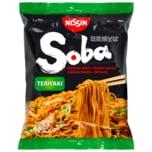 Nissin Soba Gebratene Weizennudeln Teriyaki-Geschmack 110g
