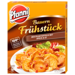 Pfanni Bauernfrühstück Bratkartoffeln mit Speck und Ei 400g
