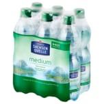 Ileburger Sachsenquelle Mineralwasser Medium 6x0,5l