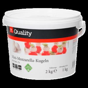 Transgourmet Mini-Mozzarella-Kugeln 1kg