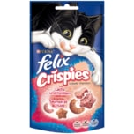 Purina felix Crispies mit Lachs & Forelle 45g