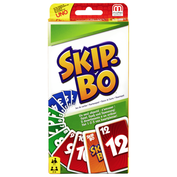 Mattel Skip-Bo Kartenspiel