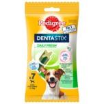 Pedigree Zahnpflege Hundesnack Dentastix Fresh für kleine Hunde 7 Stück