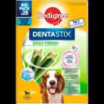 Pedigree Dentastix Fresh Zahnpflege für mittelgroße Hunde 28 Stück