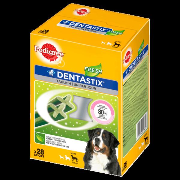 Pedigree Dentastix Fresh Zahnpflege für große Hunde 4x7 Stück