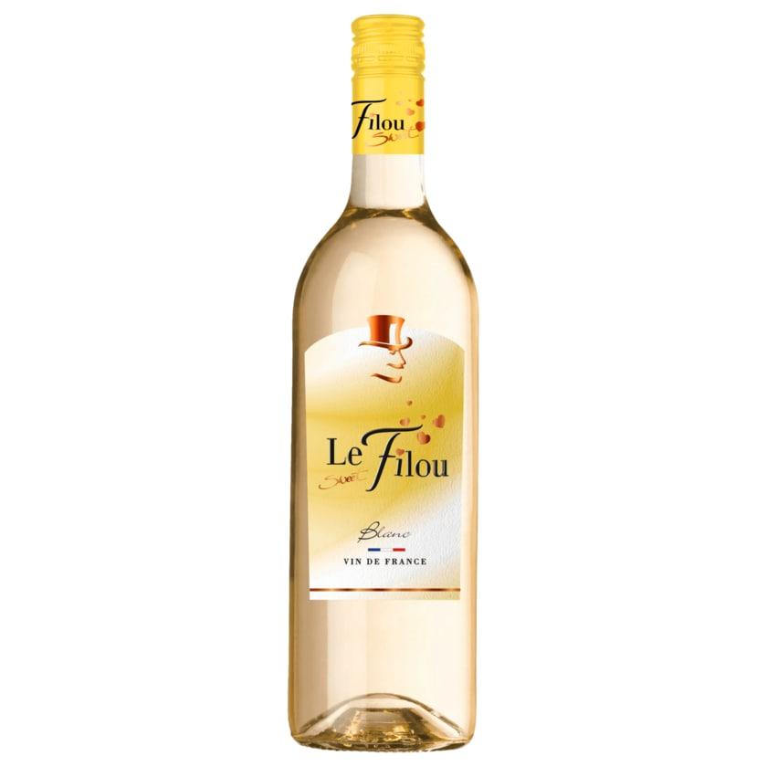 Le Sweet Filou Weißwein blanc süß 0,75l