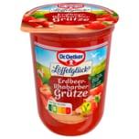 Dr. Oetker Erdbeer-Rhabarber-Grütze 500g