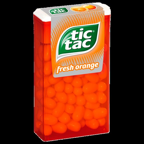 Tic Tac Fresh Orange 49g, 100 Stück