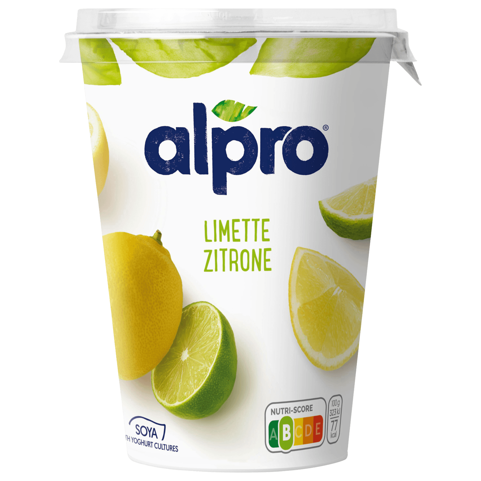 Alpro Soja-Joghurtalternative Limette-Zitrone 500g