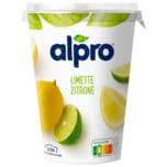 Alpro Soja-Joghurtalternative Limette-Zitrone vegan 500g