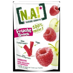 N.A! Frucht Snack Himbeere 35g