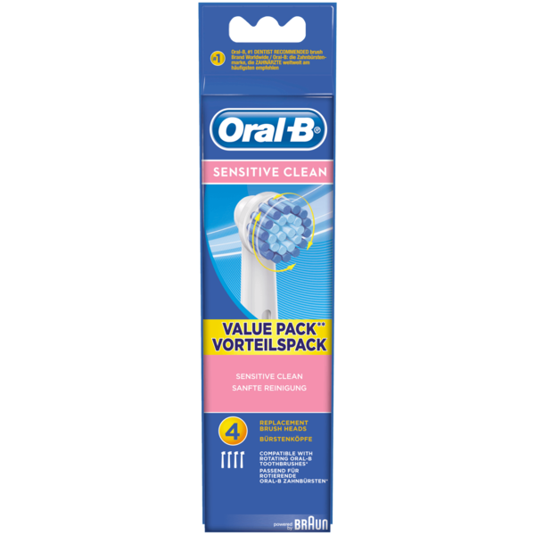 Oral-B Aufsteckbürsten Sensitive 4 Stück
