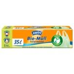 Swirl Bio-Müll-Folienbeutel mit Tragegriff 35l, 6 Stück