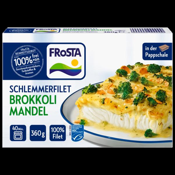 Frosta Schlemmerfilet Brokkoli-Mandel 360g