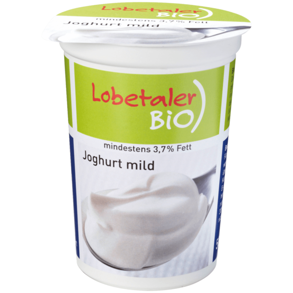 Lobetaler Bio-Joghurt Natur 3,7% 500g