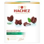 Hachez Braune Blätter Mint-Pralinés 150g