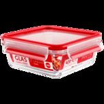 Emsa Clip&Close Glas quadratisch 0,9l