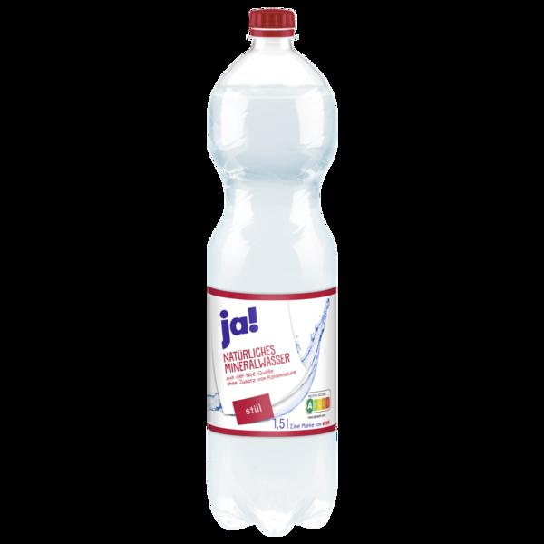 ja! Mineralwasser Still 1,5l