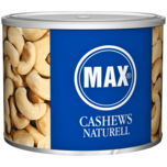Max Cashews naturell 200g
