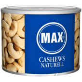 Max Cashews naturell 200g