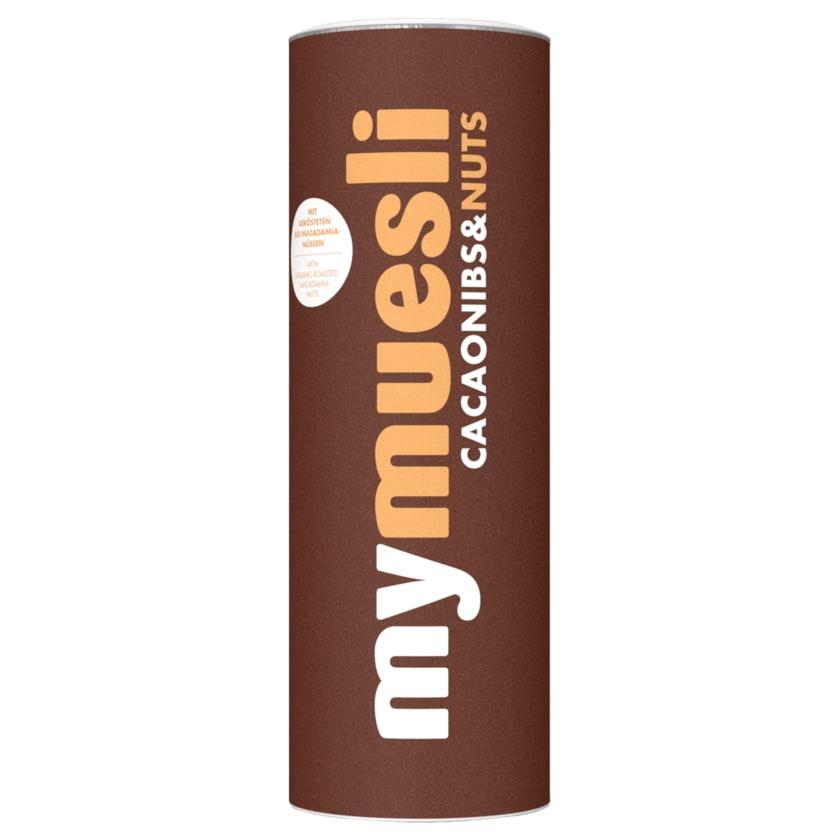 Mymuesli Bio Kakaosplitter-Nuss-Müsli 575g