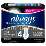 Always Secure Night Ultra 9 Stück