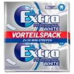 Extra Professional White Kaugummi 2x14 Mini-Streifen
