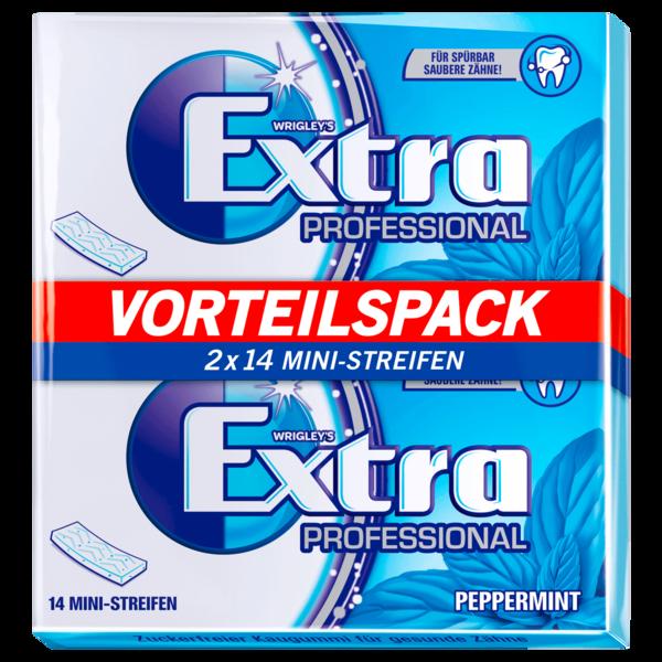 Wrigley's Extra Professional Peppermint 2x14 Stück