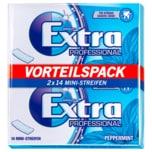 Wrigley's Extra Professional Peppermint Multipack Mini-Streifen 2x14 Stück
