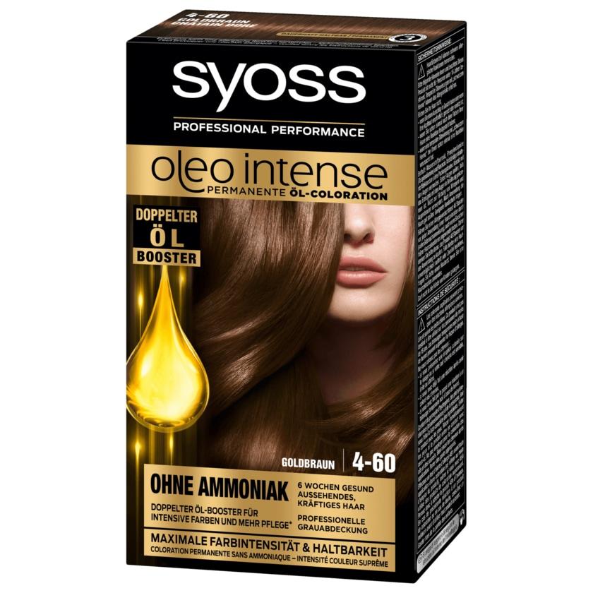 Syoss Öl-Coloration Oleo Intense 4-60 Goldbraun 115ml