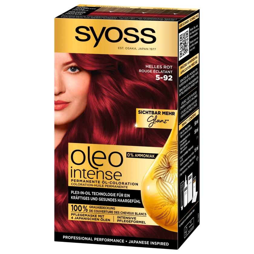 Syoss Öl-Coloration Oleo Intense 5-92 Helles Rot Stufe 3 115ml