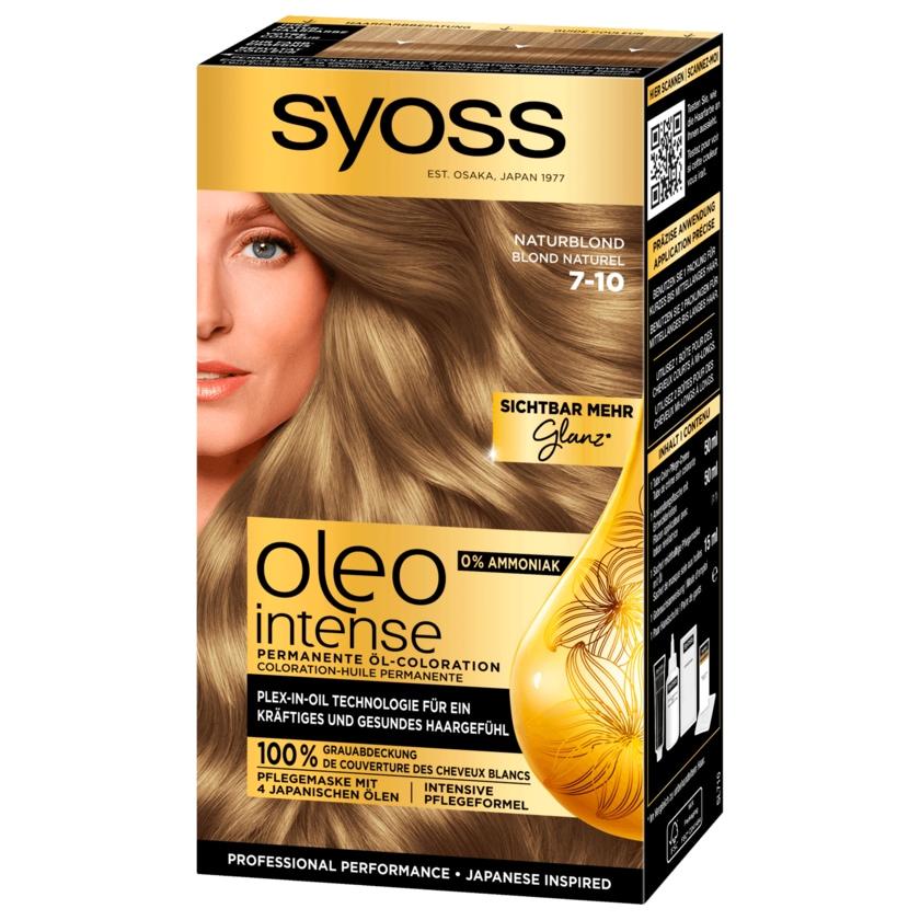 Syoss Oleo Intense 7-10 Naturblond 115ml