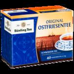 Bünting Tee Original Ostfriesentee 60g, 40 Beutel