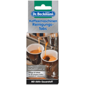 Dr. Beckmann Kaffeemaschinen Reinigungs-Tabs 6 Stück
