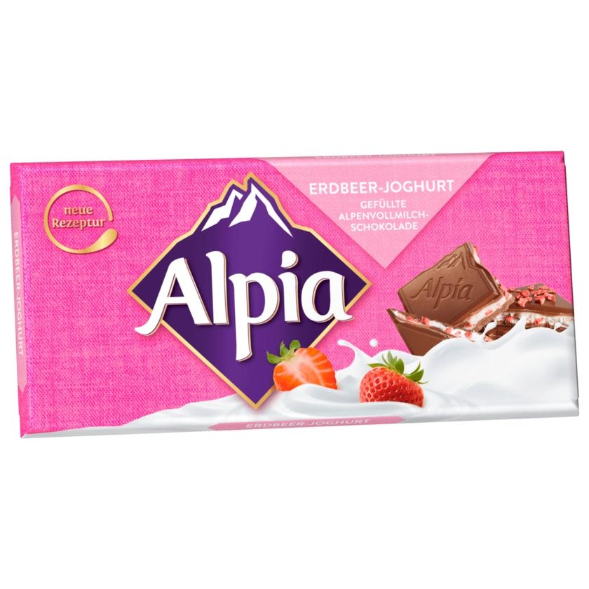 Alpia Schokolade Erdbeer-Joghurt 100g