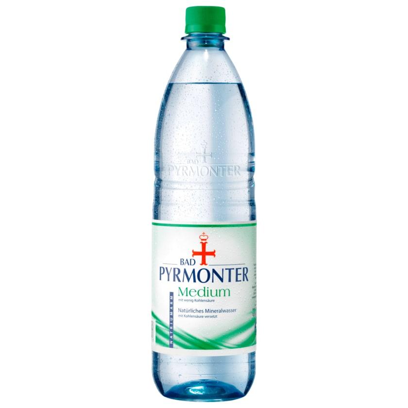 Pyrmonter Mineralwasser Medium 1l