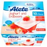 Alete Joghurt und Erdbeere 4x100g