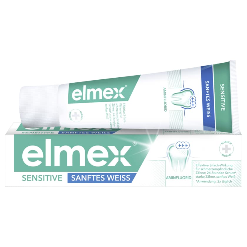 Elmex Zahnpasta Sensitive sanftes weiss 75ml