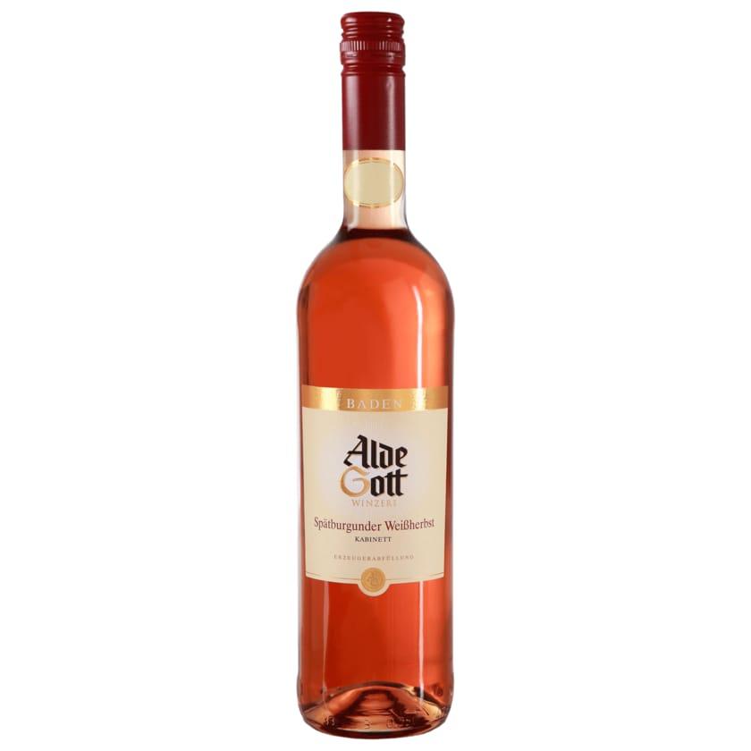 Alde Gott Rosé Spätburgunder Weißherbst halbtrocken 0,75l