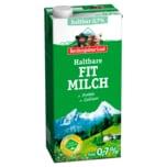 Berchtesgadener Land Haltbare Bergbauern Frühstücksmilch 0,7% 1l