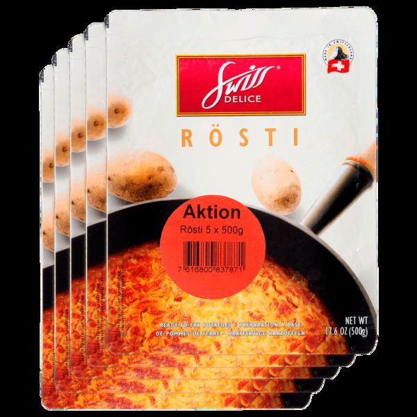 Swiss Delice Multipack Rösti 5x500g