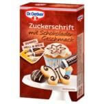Dr. Oetker Zuckerschrift Schokoladengeschmack 75g