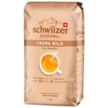 Schwiizer Schüümli Mild Kaffeebohnen 1000g
