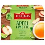 Teehaus Apfel-Limette 80g, 40 Beutel