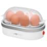 Clatronic Eierkocher für 6 Eier EK 3497 weiß/silber