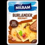 Milram Burlander herzhaft-würzig Scheiben 150g