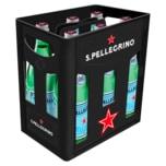 S. Pellegrino Mineralwasser Medium 6x1l