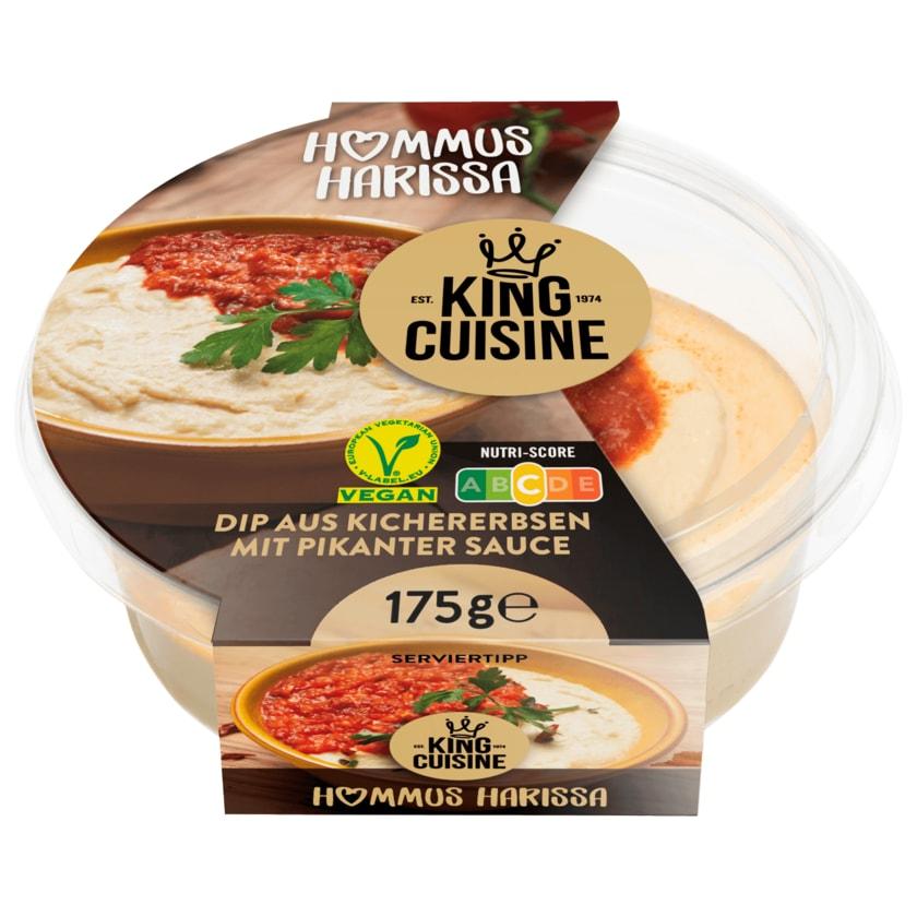 King Cuisine Hummus harissa 175g